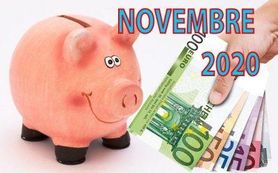 Mon actif net | Bilan mensuel de novembre 2020