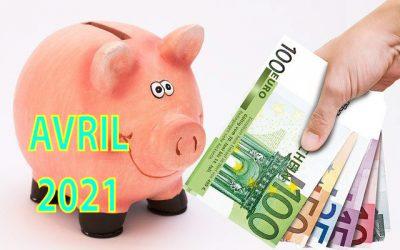 Mon actif net | Bilan mensuel d'avril 2021