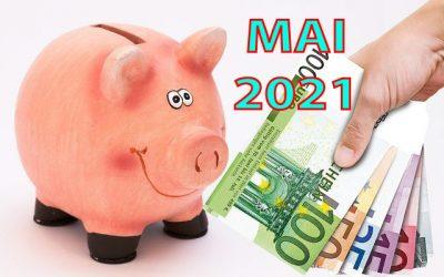 Mon actif net | Bilan mensuel de mai 2021