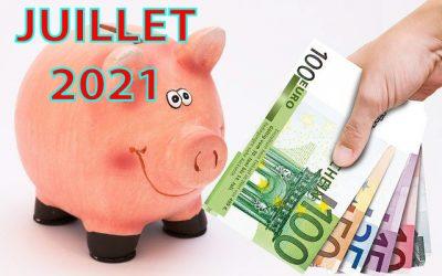 Mon actif net | Bilan mensuel de juillet 2021